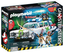 Image: Ghostbusters Playmobil Play-Set: Ecto-1  - Playmobil Usa