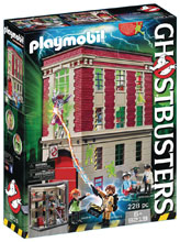 Image: Ghostbusters Playmobil Play-Set: Firehouse  - Playmobil Usa
