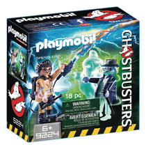 Image: Ghostbusters Playmobil Play-Set: Spengler & Ghost  - Playmobil Usa