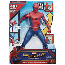 Image: Spider-Man: Homecoming Tech Suit Spidey Action Figure Case  - Hasbro Toy Group