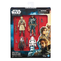 Image: Star Wars: Rogue One 3-3/4-inch Action Figure Jedha Revolt Set Case  - Hasbro Toy Group