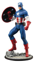Image: Captain America ArtFX 1/6th Scale Pre-Painted PVC Statue  - Koto Inc.
