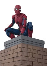 Image: Spider-Man: Homecoming S.H.Figuarts Action Figure Wall Set - Spider-Man  - Tamashii Nations
