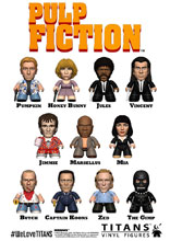 Image: Pulp Fiction Collection Titans Mini-Figure 18-Piece Blind Mystery Box Display  - Titan Books Uk