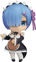 Image: Re Zero Starting Life in Another World Nendoroid: Rem  - Good Smile Company