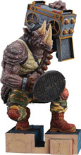 Image: Teenage Mutant Ninja Turtles PVC Figure: Rocksteady  - Good Smile Company