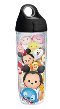 Image: Tervis Disney Water Bottle: Tsum-Tsum Stack  (w/Lid) - Tervis Tumbler Co.