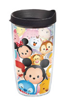 Image: Tervis Disney Tumbler: Tsum-Tsum Stack  (16-ounce) (w/Lid) - Tervis Tumbler Co.