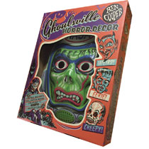 Image: Ghoulsville Vac-Tastic Plastic Mask: Astro Zombie  (Glow-in-the-Dark) - Retro-A-Go-Go! LLC