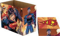 Image: DC Comics Short Comic Box: Superman Flying  (5-Pack) - Neca