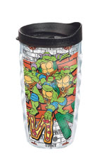 Image: Tervis Teenage Mutant Ninja Turtles Tumbler: Group  (10-ounce) (w/Lid) - Tervis Tumbler Co.