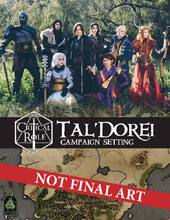 Image: Critical Role: Tal Dorei Campaign Setting HC  - Green Ronin Publishing