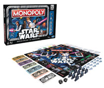 Image: Star Wars 40th Anniversary Edition Monopoly Game Case  - Hasbro Toy Group
