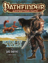 Image: Pathfinder Adventure Path: Lost Outpost Part 1 of 6 SC  - Paizo Inc