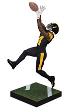 Image: NFL Madden 19 Ult Team Ser1 Antonio Brown Action Figure Case  - TMP Toys / McFarlane's Toys