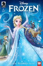 Image: Disney Frozen: Breaking Boundaries #1 - Dark Horse Comics