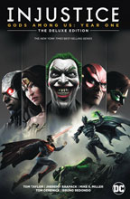 Image: Injustice: Gods Among Us Year One Deluxe Edition Book 01 HC  - DC Comics