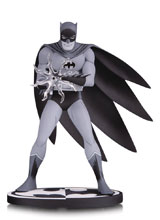 Image: Batman Black & White Statue: Batman by Jiro Kuwata  - DC Comics