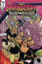 Image: Teenage Mutant Ninja Turtles: Bebop Rocksteady - Hit the Road #1 (cover A - Pitarra) - IDW Publishing