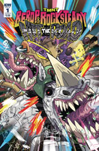 Image: Teenage Mutant Ninja Turtles: Bebop Rocksteady - Hit the Road #1 (cover B - Bates) - IDW Publishing