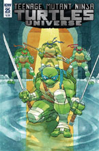 Image: Teenage Mutant Ninja Turtles Universe #25 (cover B - Daniel) - IDW Publishing