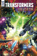 Image: Transformers: Unicron #3 (cover A - Milne) - IDW Publishing