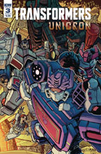 Image: Transformers: Unicron #3 (cover B - Raiz) - IDW Publishing