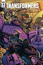 Image: Transformers: Unicron #4 (cover B - Raiz) - IDW Publishing