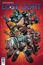 Image: Transformers: Lost Light #23 (cover A - Lawrence) - IDW Publishing