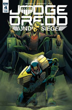 Image: Judge Dredd: Under Siege #4 (cover A - Dunbar) - IDW Publishing