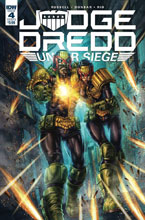 Image: Judge Dredd: Under Siege #4 (cover B - Quah) - IDW Publishing