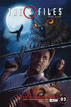 Image: X-Files Case Files: Hoot Goes There #2 (cover A - Nodet) - IDW Publishing