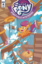 Image: My Little Pony: Ponyville Mysteries #4 (cover B - Murphy) - IDW Publishing