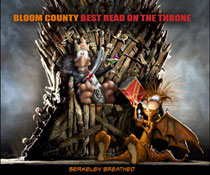 Image: Bloom County: Best Read on the Throne SC  - IDW Publishing