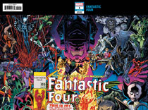 Image: Fantastic Four #1 (variant connecting wraparound cover - Art Adams) - Marvel Comics