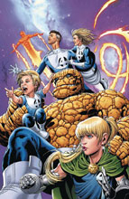 Image: Punisher #1 (variant Return of Fantastic Four cover - Larroca) - Marvel Comics