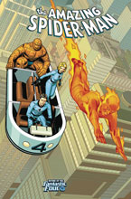 Image: Amazing Spider-Man #4 (variant Return of Fantastic Four cover - Sprouse) - Marvel Comics