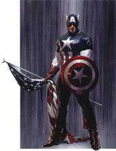 Image: Captain America #2 by Alex Ross Poster  - Marvel Comics