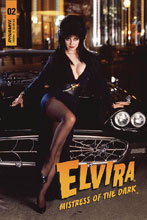 Image: Elvira: Mistress of the Dark #2 (cover D - Photo) - Dynamite