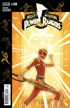 Image: Mighty Morphin Power Rangers #30 (subscription cover - Gibson) - Boom! Studios