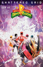 Image: Mighty Morphin Power Rangers: Shattered Grid #1 - Boom! Studios