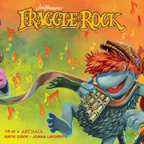 Image: Jim Henson's Fraggle Rock #4 (subscription cover - Myler) - Boom! Studios