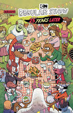 Image: Regular Show: 25 Years Later #3 (subscription cover - Beck) - Boom! Studios
