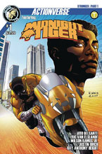 Image: Midnight Tiger Stronger #1 (cover A - Van Elslande) - Action Lab Entertainment