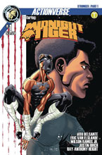 Image: Midnight Tiger Stronger #1 (cover B - Height) - Action Lab Entertainment