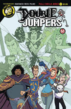 Image: Double Jumpers: Full Circle Jerks #1 (cover A - Rios) - Action Lab - Danger Zone
