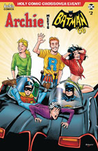Image: Archie Meets Batman '66 #2 (cover B - Burchett) - Archie Comic Publications