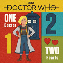 Image: Doctor Who: One Doctor, Two Hearts HC  - BBC Books