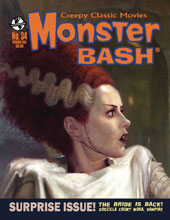 Image: Monster Bash Magazine #34 - Creepy Classics/Monster Bash