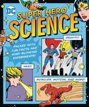 Image: DC Super Hero Science HC  - Downtown Bookworks